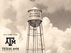 Welcome to Aggieland- Texas A M
