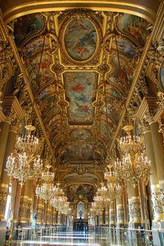 mirrors, palac, paris travel, palai garnier, architecture interiors