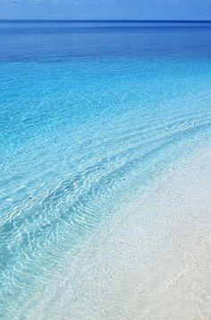 beautiful ocean blue...
