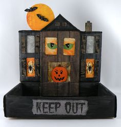 Here's another #DIY #Halloween decoration from Gina Tepper of Gift Design!