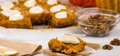 Vegan Pumpkin Pie Sq
