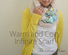 Riley Blake Designs Blog: Project Design Team Wednesday ~ Warm and Cozy Infinite Scarf