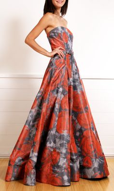 OSCAR DE LA RENTA DRESS @Michelle Flynn Coleman-Hers