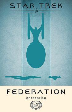 Enterprise Poster by liquidsouldesign, via Flickr
