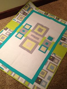 Baby quilt idea