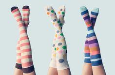 colorful boot socks