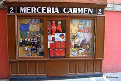 Mercería Carmen, en la calle San Miguel, Pamplona