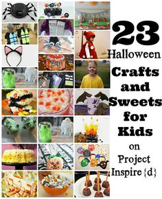 23 Halloween Crafts and Sweets for Kids from Project Inspire{d