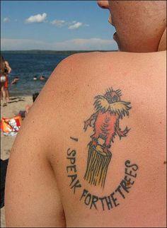 ah a fellow dr. seuss tattoo :)
