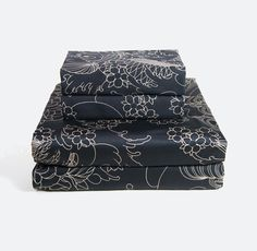 Geisha Moon Tattoo Sheet Set by Sin in Linen