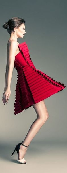 jean loui, coutur, red jeans, loui sabaji, paper, dresses, art, fashion photographi, fashion photography