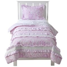 Chatelet Quilt Set - Pink (Full/Queen)