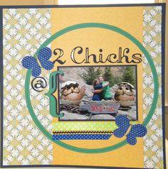 2 chicks @ Dollywood - Scrapjazz.com