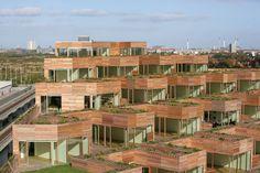 Mountain Green Dwellings in Copenhagen, Denmark by BIG with JDS