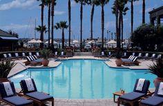 The Ritz-Carlton pool in Marina del Rey, CA