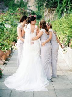 Positano, Italy Destination Wedding   On SMP  -  http://www.StyleMePretty.com/destination-weddings/2014/01/07/positano-italy-destination-wedding/ 2 Brides Photography