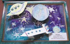 Картинки своими руками о космосе