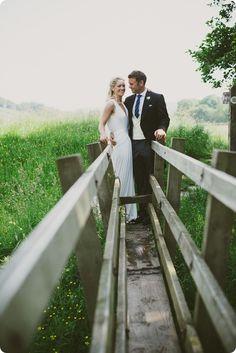 Cat marries in Amanda Wakeley Sposa wedding dress 'Alexis'
