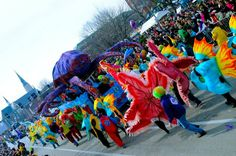 Mardi Gras! St. Louis has one of the largest celebrations in the country.