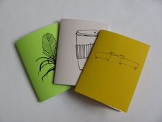 {set of 3 coloring books} plants, coffee, and salt & pepper shakers! so cute :)