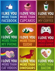 my Valentine's Day cards