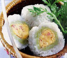 Vietnamese Mung Bean Dumplings (Bánh Khúc)