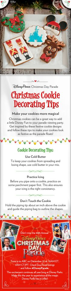 Make your Christmas cookies more magical with these decorating tips!