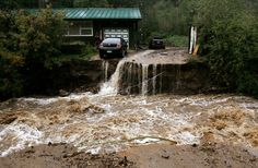 Not a good time for a drive...  A real mess in Colorado.  http://graphics8.nytimes.com/images/2013/09/13/us/FLOODING-1/FLOODING-1-superJumbo.jpg