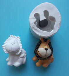 Stampo per leone thun in ceramica o pasta di zucchero