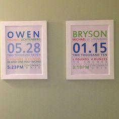 Finally got these done and hung up in the boys' bathrooms!!!  Love them!!