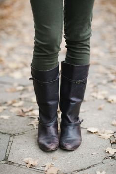 Fall Riding Boots.