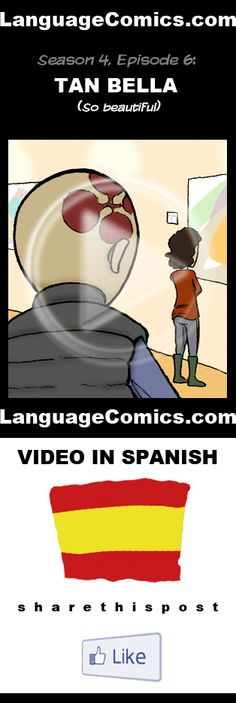 Practice your pronunciation and learn #Spanish with this episode and many more. Enjoy and share!  http://www.youtube.com/watch?v=jbwmGUnsDzc
