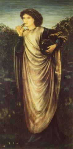 Morgan Le Fay by Sir Edward Burne-Jones :: artmagick.com