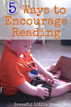 Tips for encouraging young children to grow up as readers