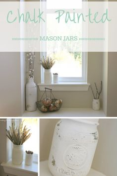 Chalk Painted Mason