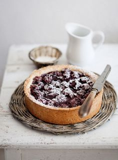 cherry crostata