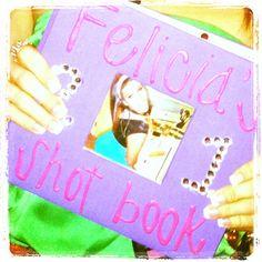 Shot book cover