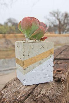 Simple design, simple instructions, hopefully simple craft. Diy concrete planters