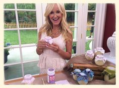 Sophie Uliano on the Hallmark Channel making beeswax candles:  http://www.hallmarkchannel.com/homeandfamily/howto/sophieulianosdiybeeswaxcandles