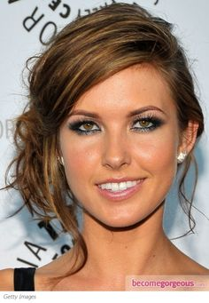 audrina patridge  love this hairstyle