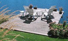 Deck over water