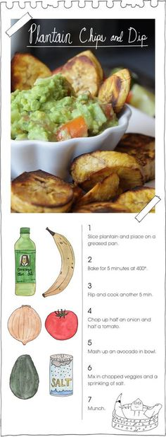 Plantain Chips & Dip