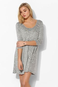Sparkle & Fade 3/4 Sleeve Tee Dress #urbanoutfitters