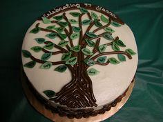 Family Tree Cake 2 by GRAMPASSTORE, via Flickr
