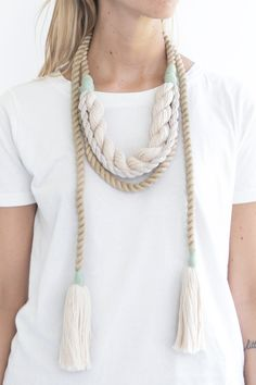 CAVE COLLECTIVE, Kelp Wrap Necklace | Mr. Larkin