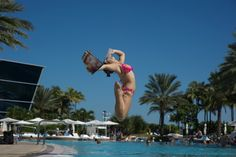 Miami - Annie Gaddis leaping into summer. #DancersAmongUs by Jordan Matter. More info on the book: http://bit.ly/LjkMVi