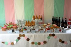 ice cream birthday party - Google Search