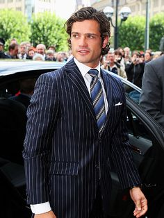 Prince Carl Philip of Sweden, the only son of King Carl XVI Gustaf & Queen Silva