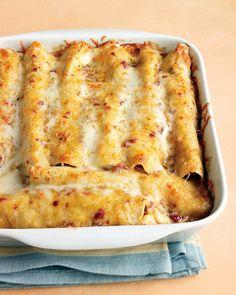 Lighter Chicken Enchiladas Recipe | Martha Stewart