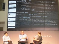 A riveting #MLTalks with Judith Donath, Ethan Zuckerman, and Joi Ito about social and digital identity.